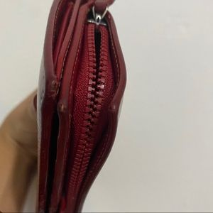 Gucci Bags - Authentic Gucci Wallet. Dark Red.